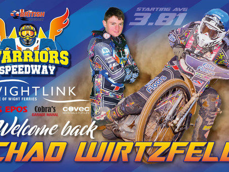 Warriors Confirm Chad Wirtzfeld's Return