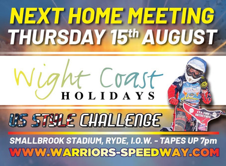 Meeting Preview - Wight Coast Holidays Challenge