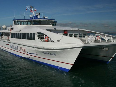 Wightlink Fastcat - Update