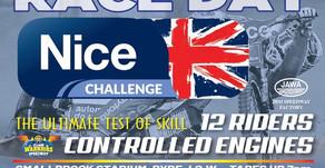 NICE Challenge - Race Day Update