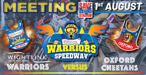Meeting Preview - Warriors v Oxford (Challenge)