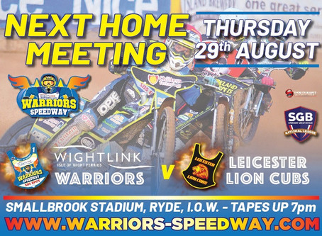 Meeting Previews - Warriors v Leicester (NL) & Wizards v Birmingham (MSDL)