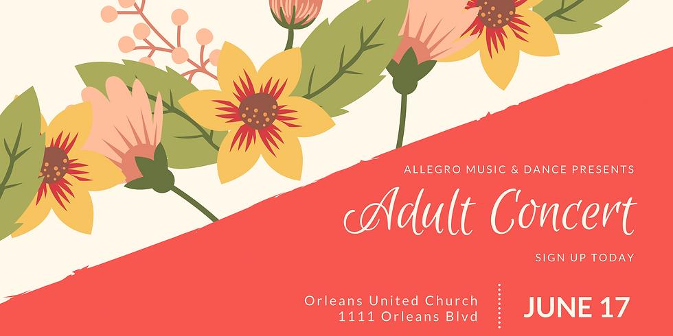 Adult Concert