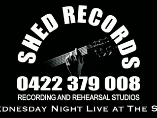 The Howlers Recorded Live at the Shed!