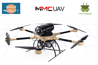 Hy-Hybrid Energy, GOLDI Mobility and MMCUAV Sign Partnership Agreement on Hydrogen Drone Business