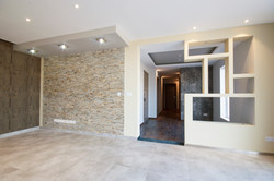 living room feature wall cladding