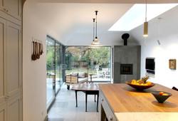 interior design kitchen living