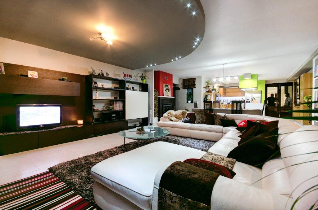 Living dining area interior design
