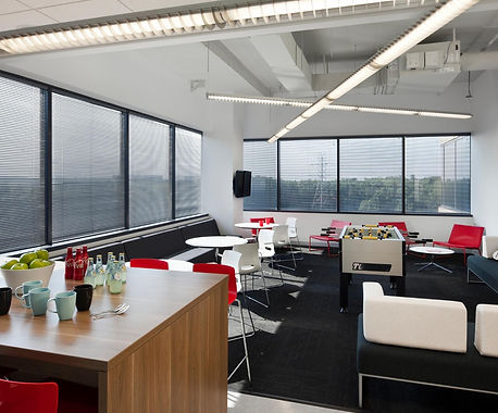 interior architecture, interior design, micropact office lunch room, bldg washington dc, bill london desing group