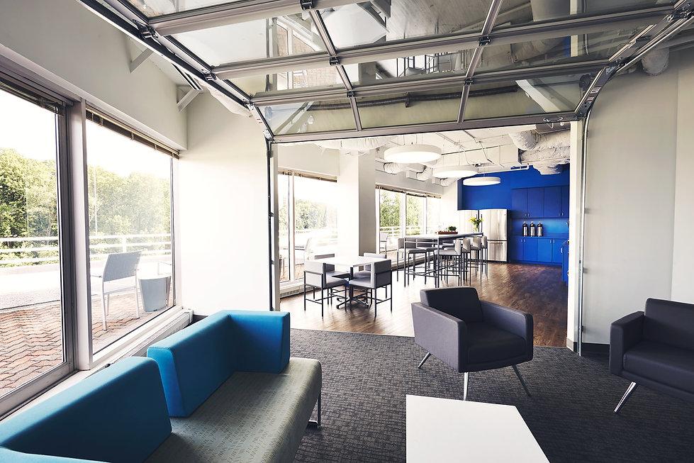 Naylor Association Solutions, office design, interior design, interior architecture, bill london design group, bldg, washington dc, garage door