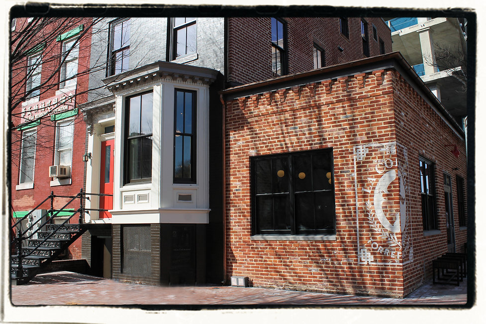 601 Eye Street, home of La Colombe Coffee, desgined by Bill London Design Group in Washington DC.