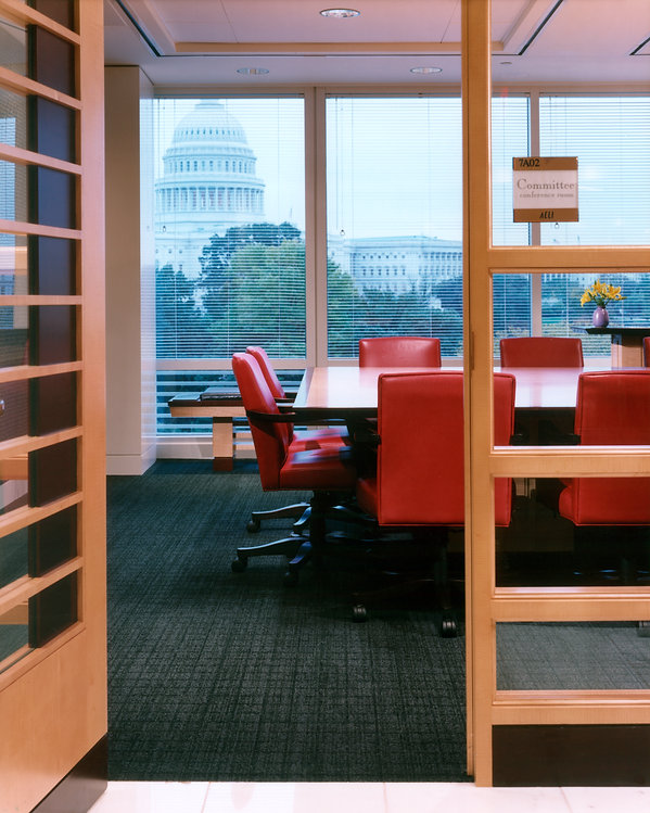 ACLI's office, overlooking the Capital was designed by bldg, Washington DC.