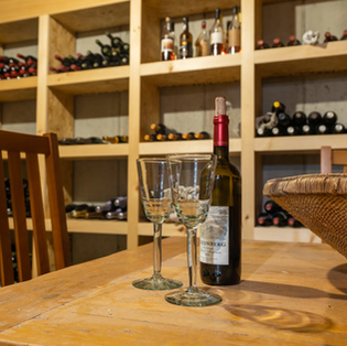 Real Estate Photography - Wine Cellar