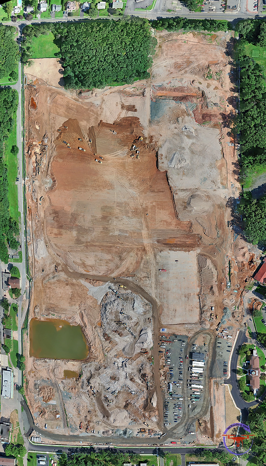 Drone Mapping Construction Site Hudson V
