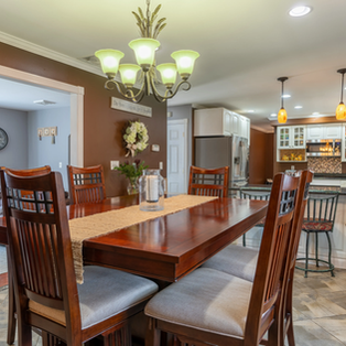 Real Estate Photography Dining Room Cats