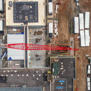 Construction Site Drone Photography Services