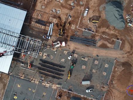 Construction Site Progressive Imagery