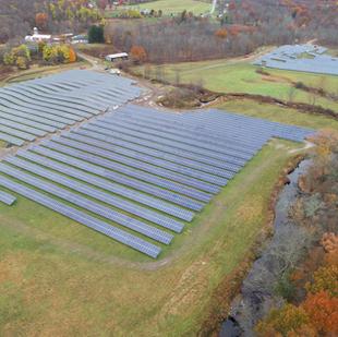 Commercial Solar Site Drone Services