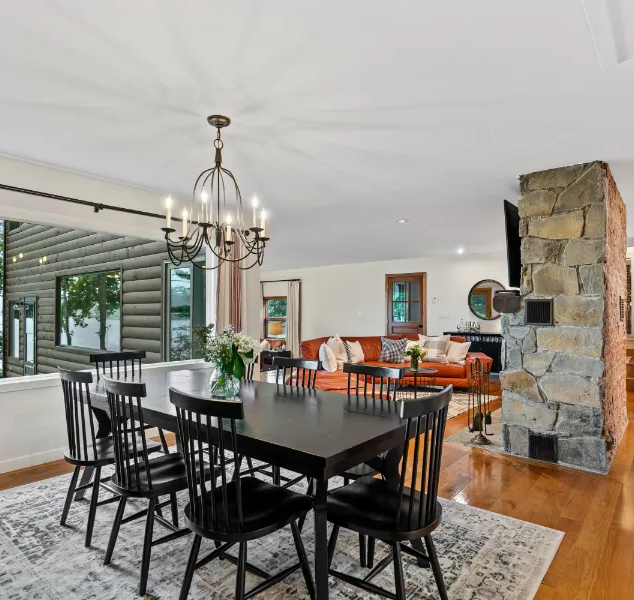 Real Estate Photography Dining Room Catskills