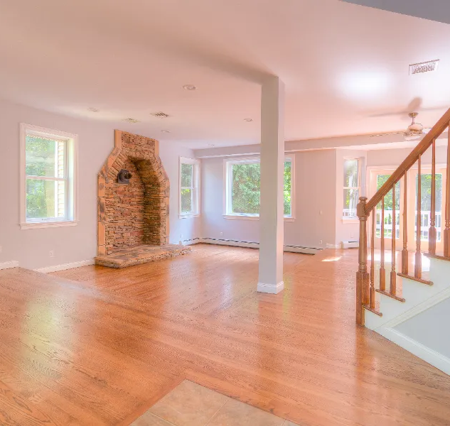 Drone Photography Living Room Area Ulster County