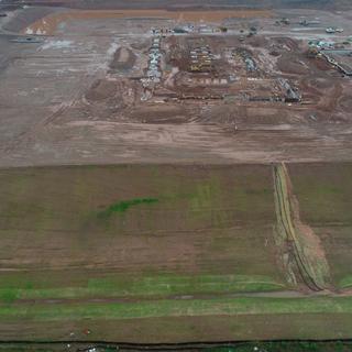 Construction Site Professional Drone Services