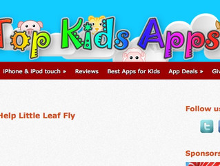 Teha gets 4 Stars from Top Kids Apps
