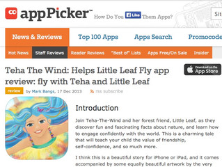 "App Picker ... ""A beautiful story."""