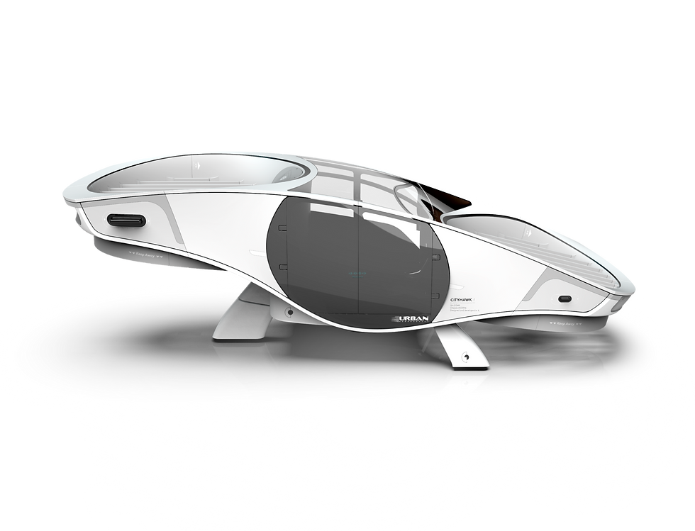Fancraft technology - VTOL with enclosed rotors, safe by design