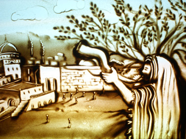 Shofar in Jerusalem