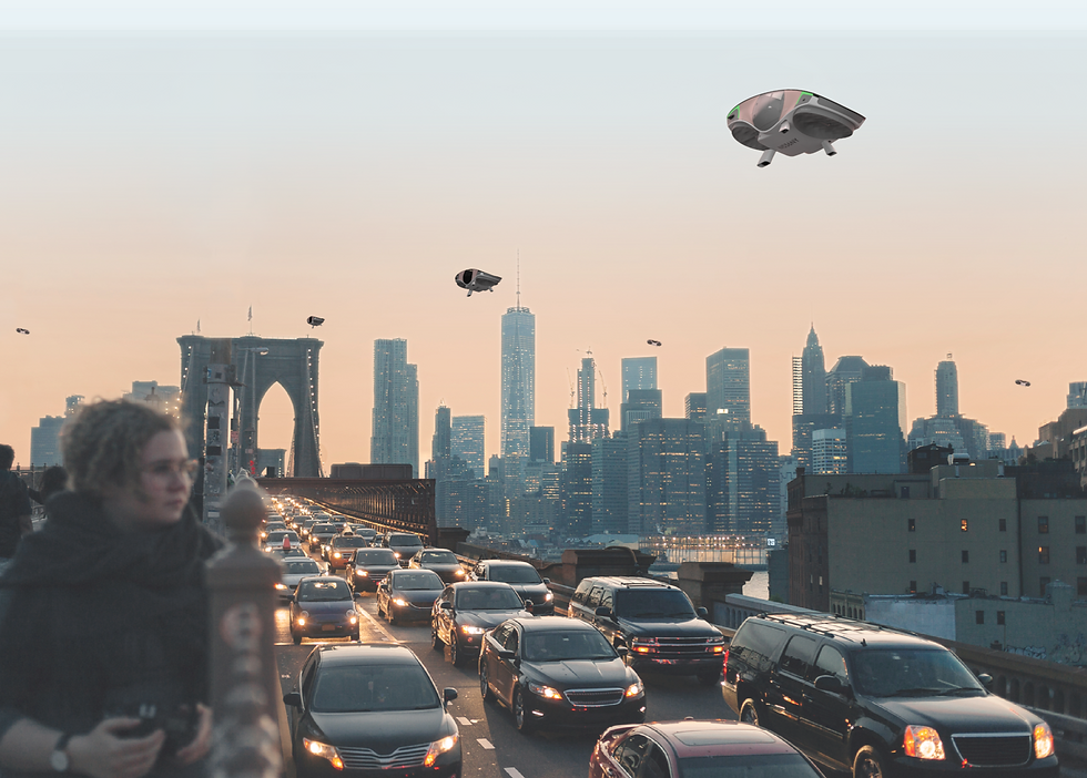 The future of urban mobility by Urban Aeronautics