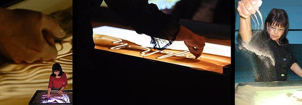 Sand Animator Ilana Yahav