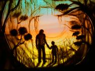 The magic garden (in color)