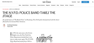 Content collaboration covered by The New Yorker
