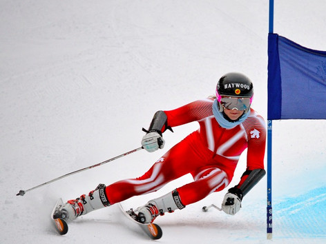 STEF FLECK - An Olympic Canadian Alpine skier
