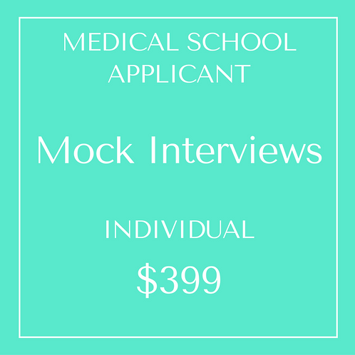 Mock Interviews - Individual