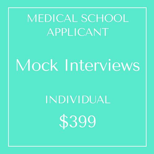 Mock Interviews - Individual