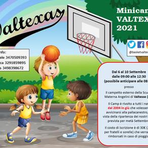 MINICAMP VALTEXAS 2021!!!!