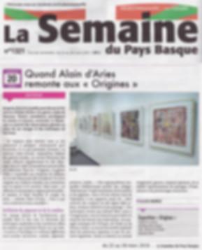 Article exposition Origines - Alain D'ar