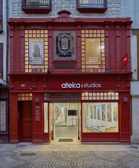 ATEKA Studios & Galerie - 20 rue Port Ne