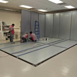 Shield Room Installation 3