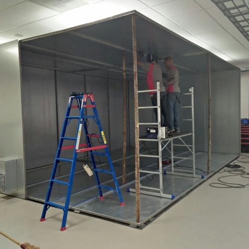Shield Room Installation 7
