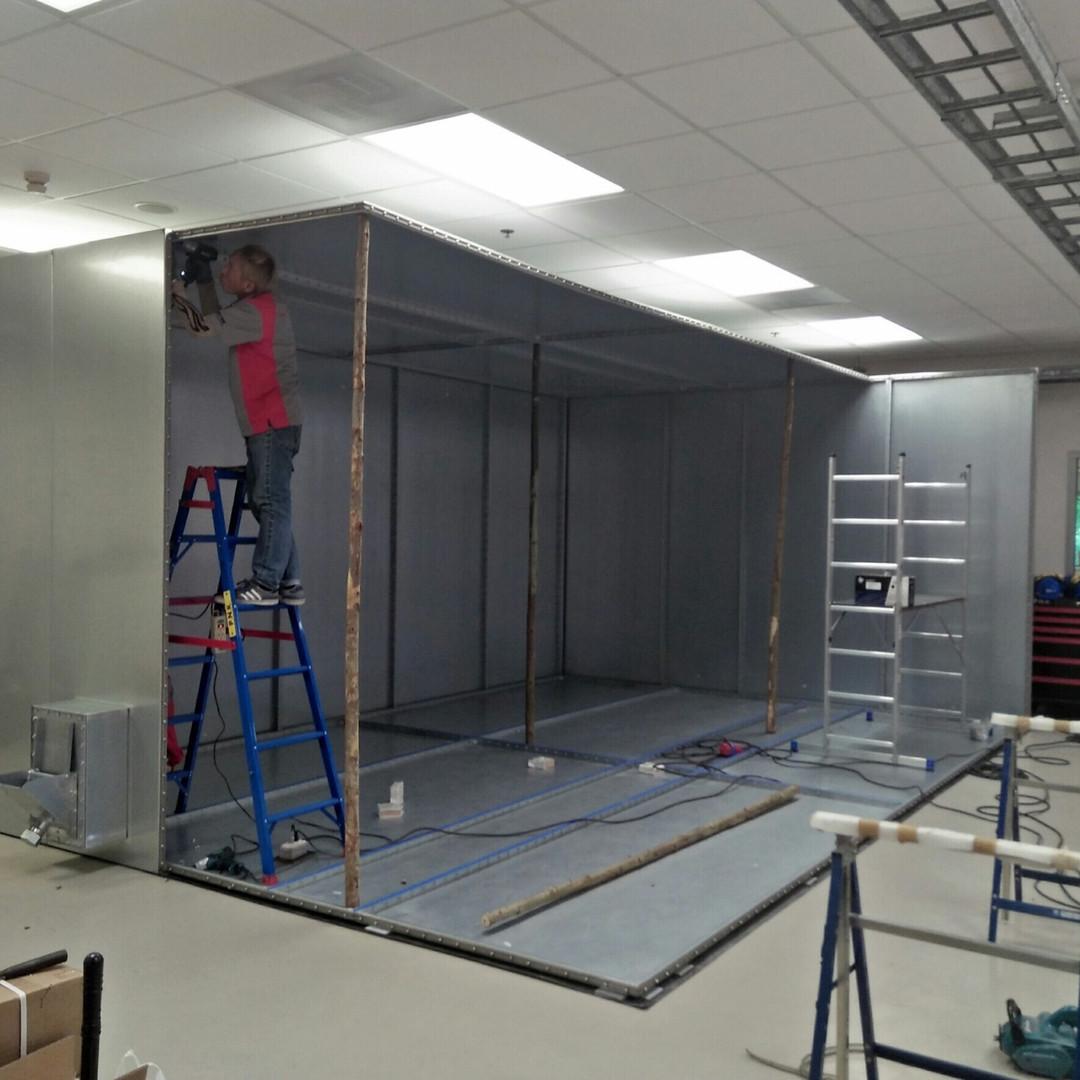 Shield Room Installation 5