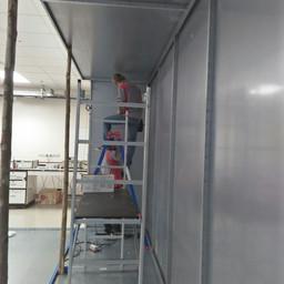 Shield Room Installation 6