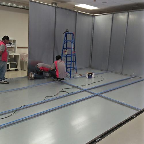 Shield Room Installation 4