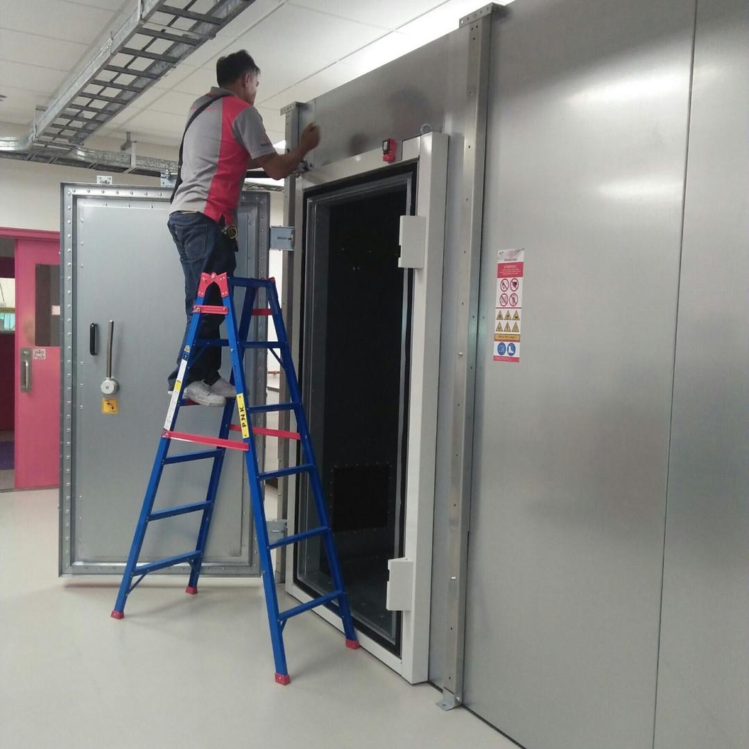 Shield Room Installation 12