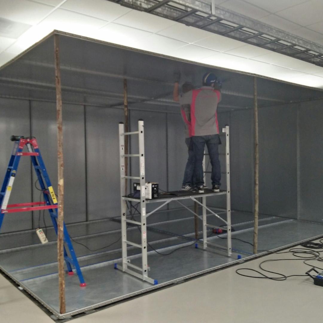 Shield Room Installation 8