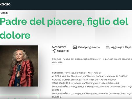 """(IT) """"Rach Mode On"""" - RaiRadio3 14/12/2020"""