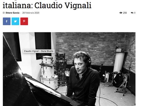 """(IT) Ottima recensione di """"Rach Mode On"""" e intervista a cura di Ettore Garzia - """"Percorsi Musicali"""""""