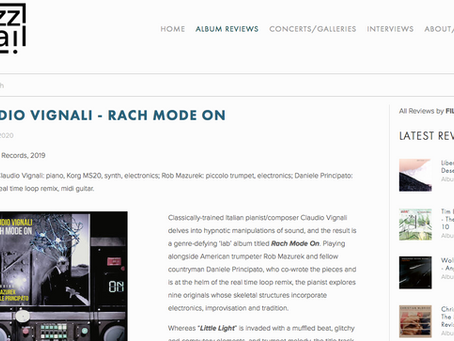 """(ENG) """"Rach Mode On"""" reviewed by """"JazzTrail"""" NYC"""