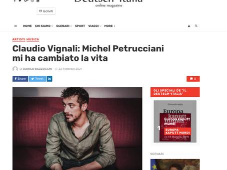 """(IT) Intervista su """"Il Deutsch Italia Magazine"""" di Danilo Bazzucchi"""